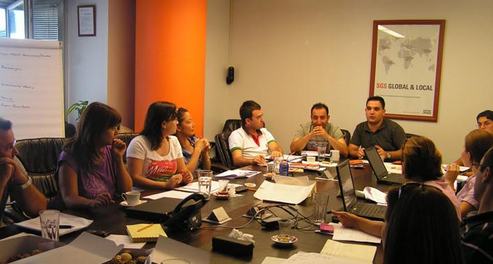 SGS Kişisel Gelişim Programı devam etmektedir.